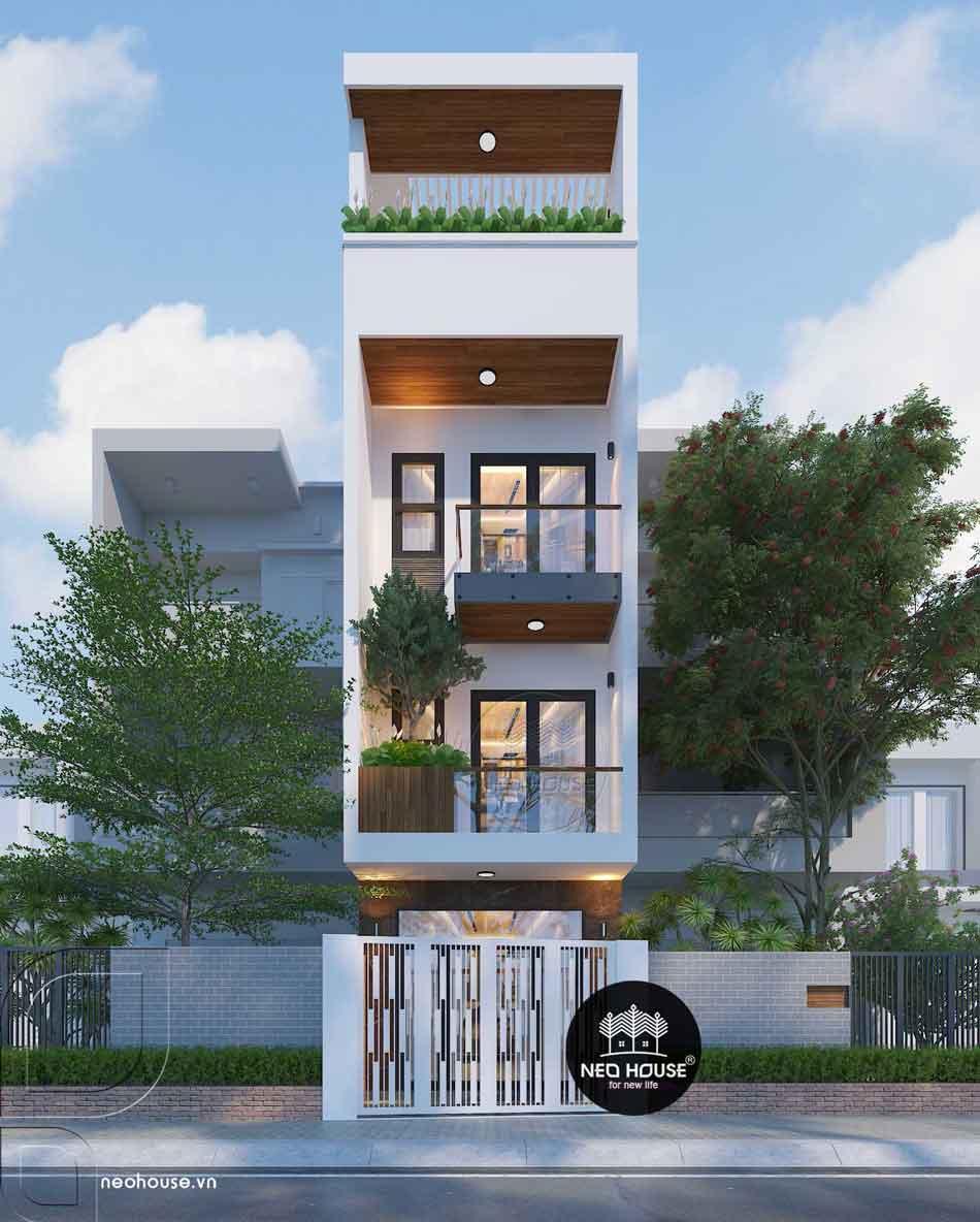 Thiết kế nhà phố hiện đại. Ảnh 19