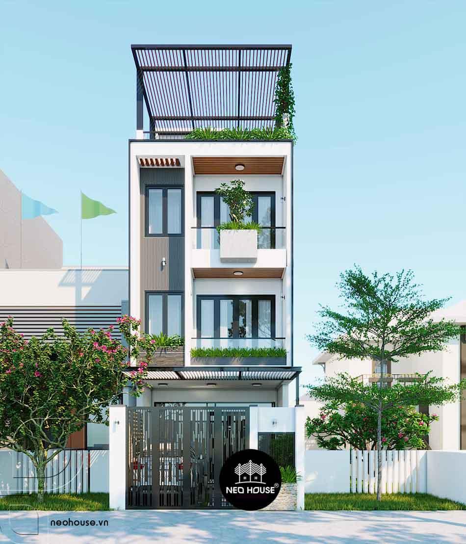 Thiết kế nhà phố hiện đại. Ảnh 21