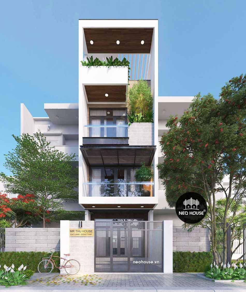 Thiết kế nhà phố hiện đại. Ảnh 22