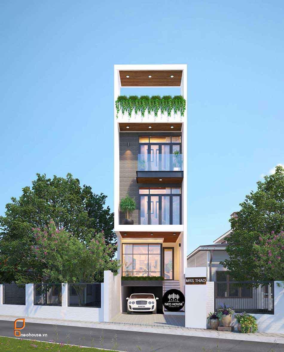 Thiết kế nhà phố hiện đại. Ảnh 23