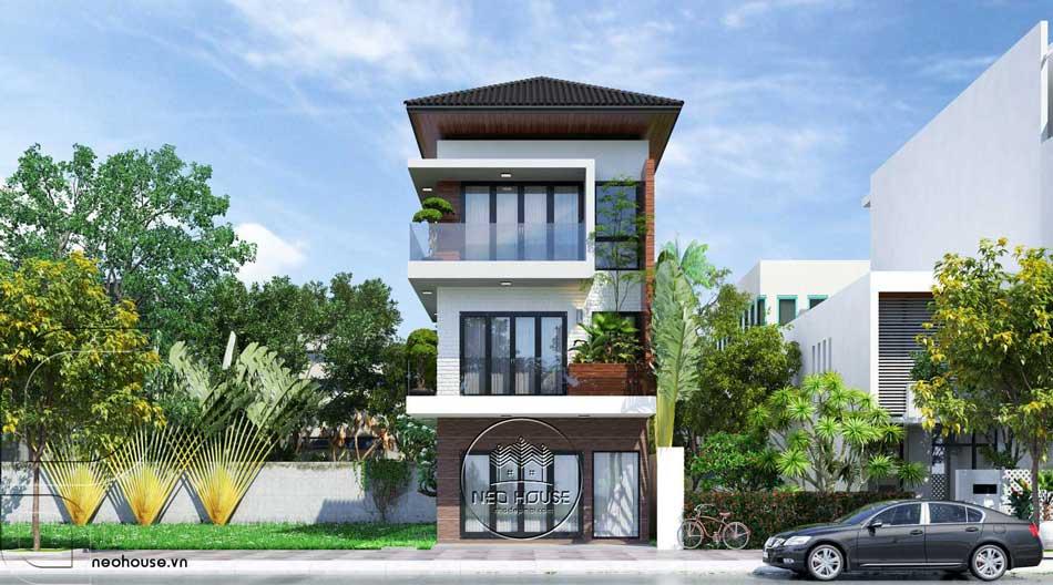Thiết kế nhà phố hiện đại. Ảnh 25
