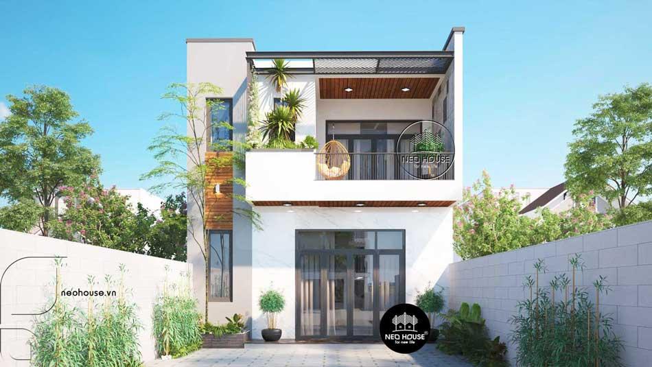 Thiết kế nhà phố hiện đại. Ảnh 7