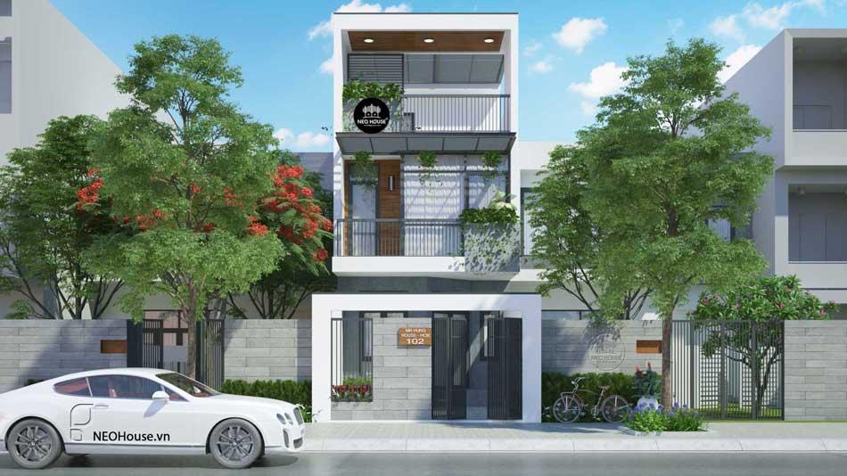 Thiết kế nhà phố hiện đại. Ảnh 8