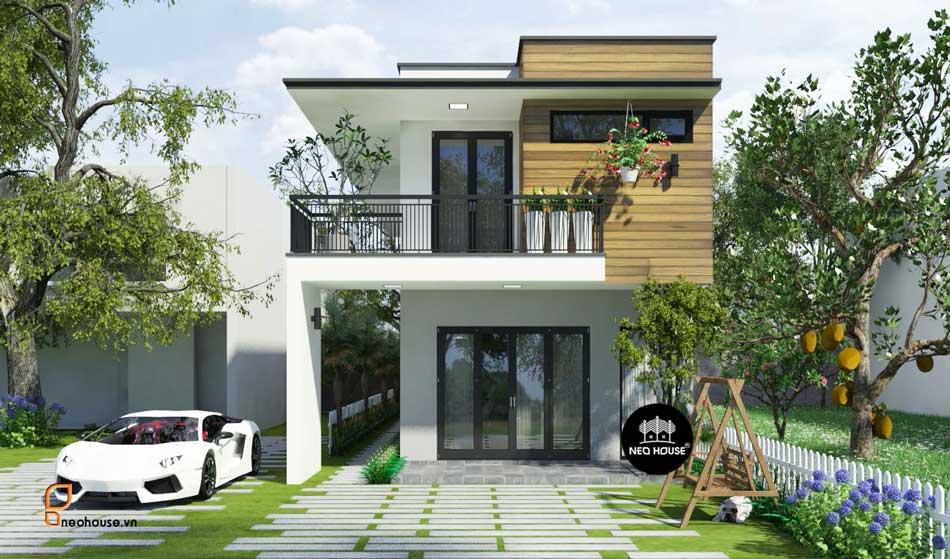 Thiết kế nhà phố hiện đại. Ảnh 10