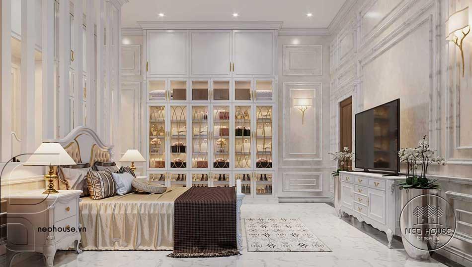 Thiết kế nội thất bán cổ điển. Ảnh 2