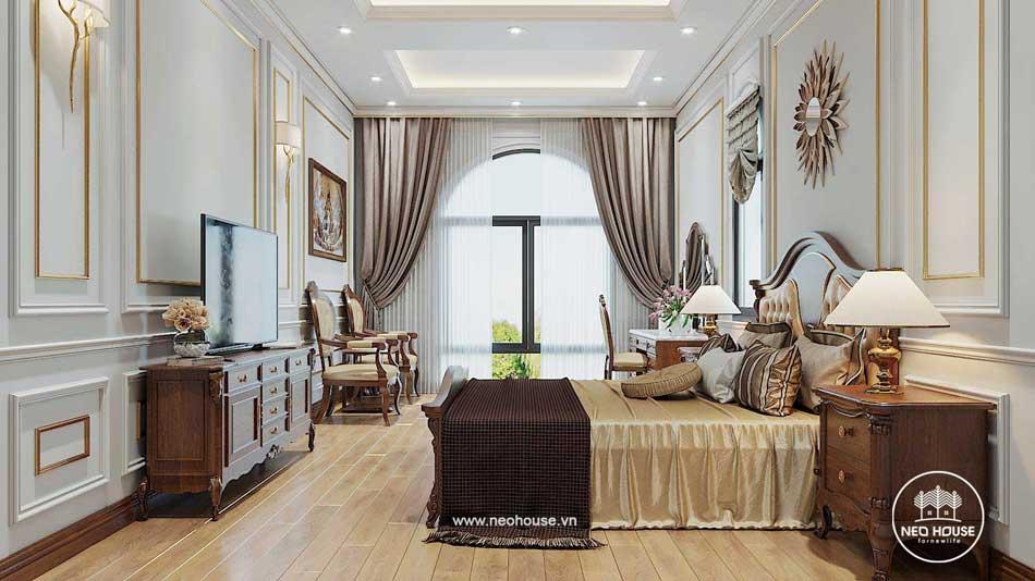 Thiết kế nội thất bán cổ điển. Ảnh 7