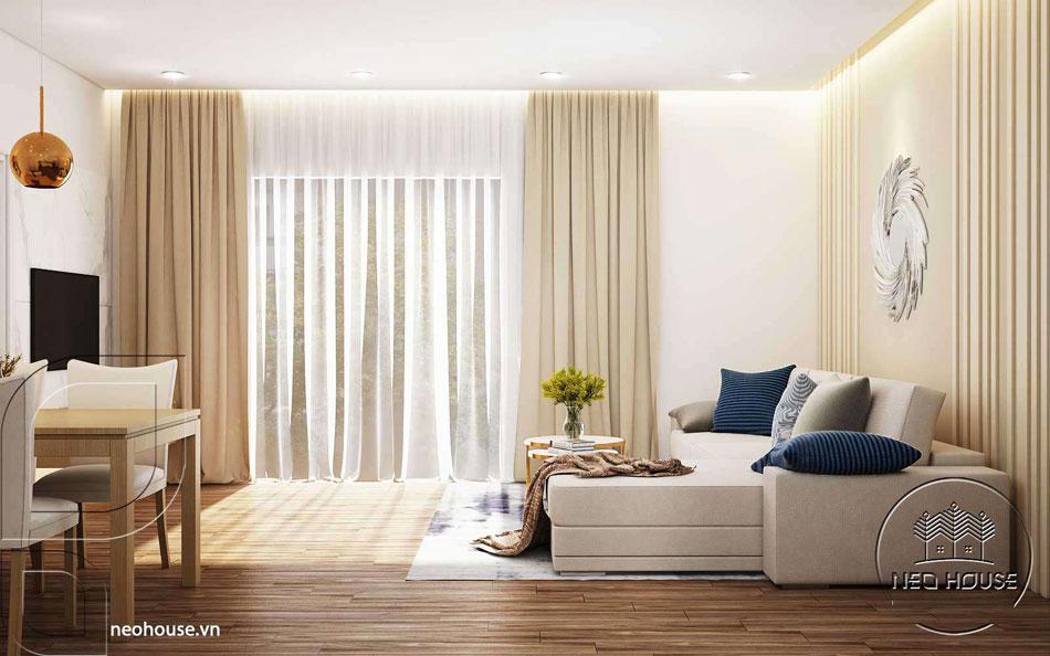 Thiết kế nội thất căn hộ. Ảnh 9