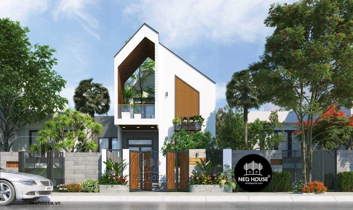 Thiết kế nhà phố hiện đại mặt tiền 7m