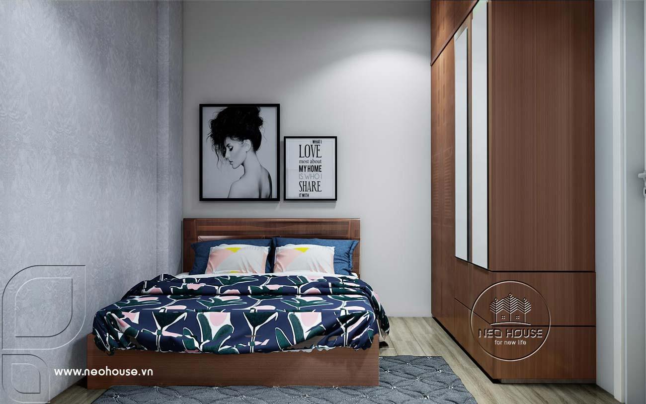 Thiết kế nội thất căn hộ chung cư 70m2. Ảnh 8