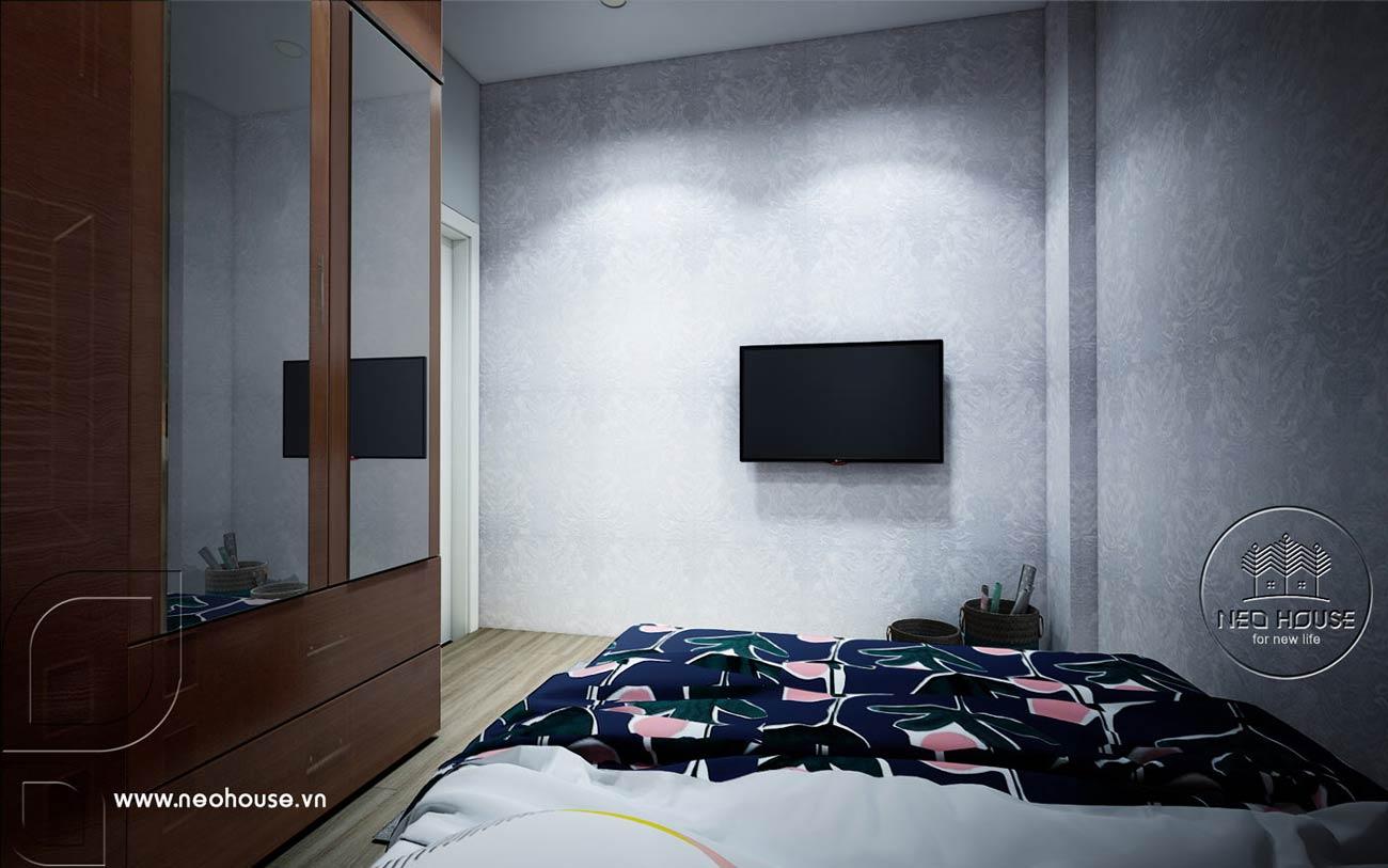 Thiết kế nội thất căn hộ chung cư 70m2. Ảnh 9