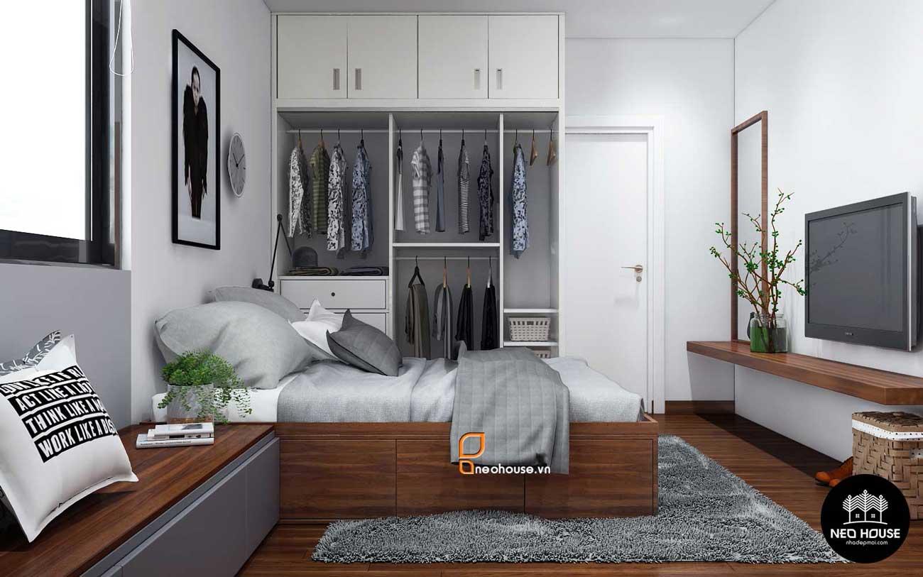 Thiết kế nội thất phòng ngủ bé trai nhà phố 8x14m. Ảnh 2