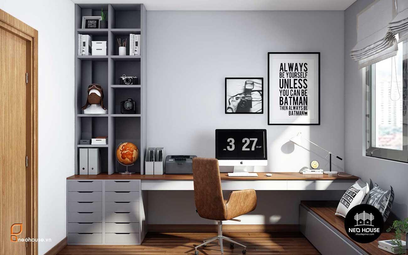 Thiết kế nội thất phòng ngủ bé trai nhà phố 8x14m. Ảnh 3