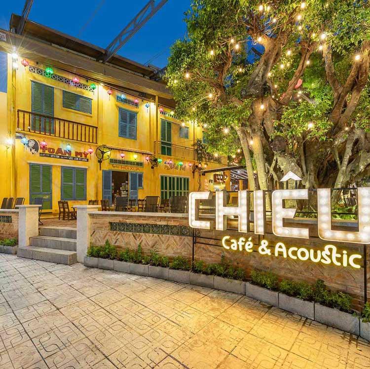 Thiết kế quán cafe sân vườn. Ảnh 1