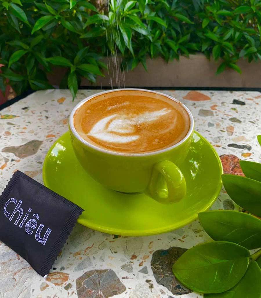 Hình ảnh thực tế thi công quán cafe sân vườn. Ảnh 9