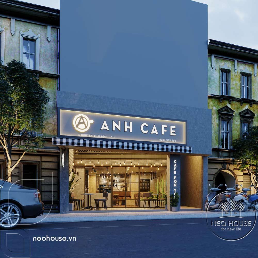 Thiết kế thi công cải tạo quán cafe. Ảnh 1