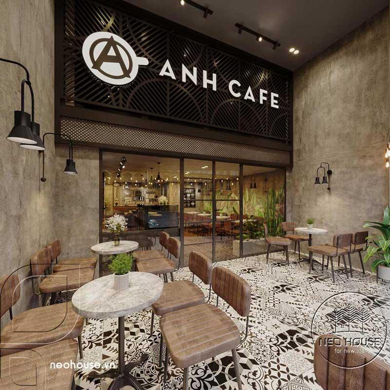 Thiết kế thi công cải tạo quán cafe. Ảnh 3