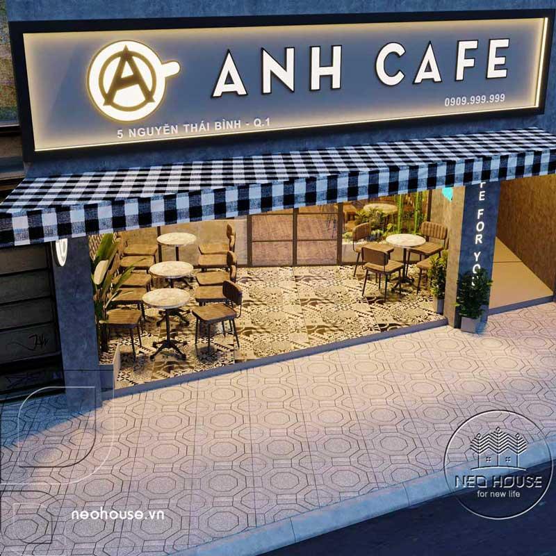 Thiết kế thi công cải tạo quán cafe. Ảnh 2