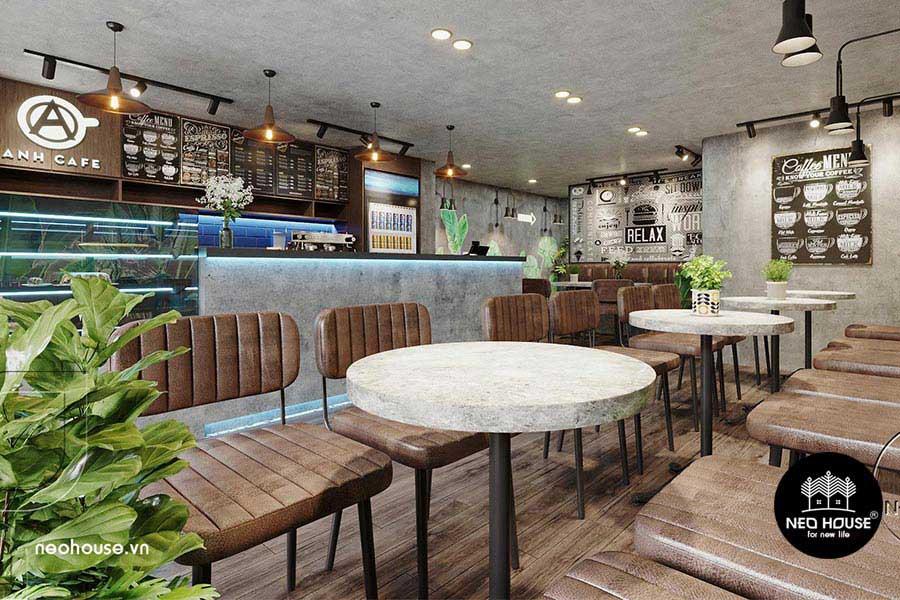 Thiết kế cải tạo quán cafe. Ảnh bìa