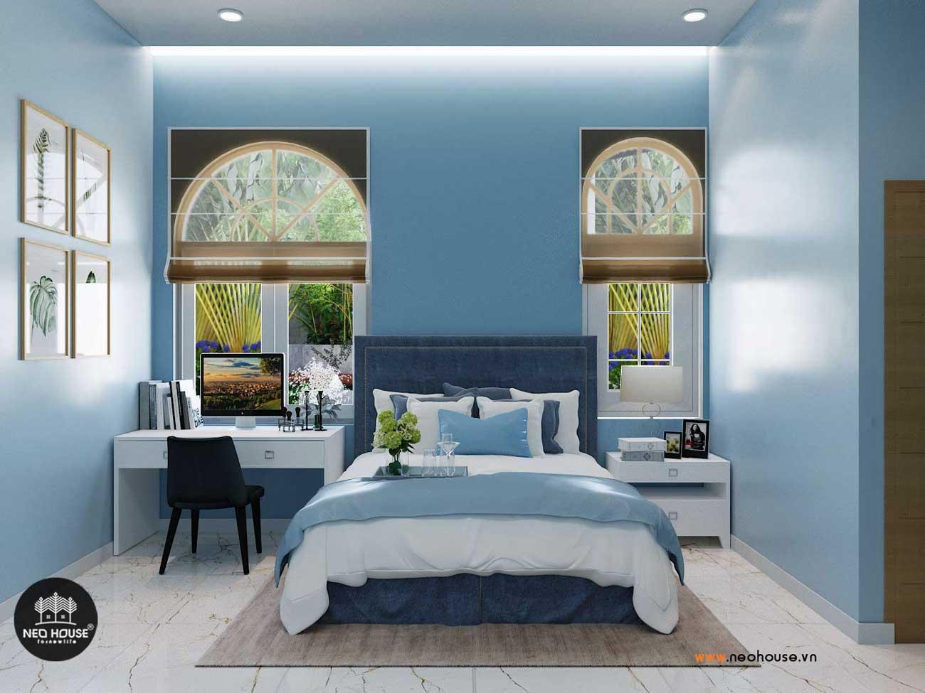 Thiết kế nội thất biệt thự vườn 1 tầng hiện đại. Ảnh 4
