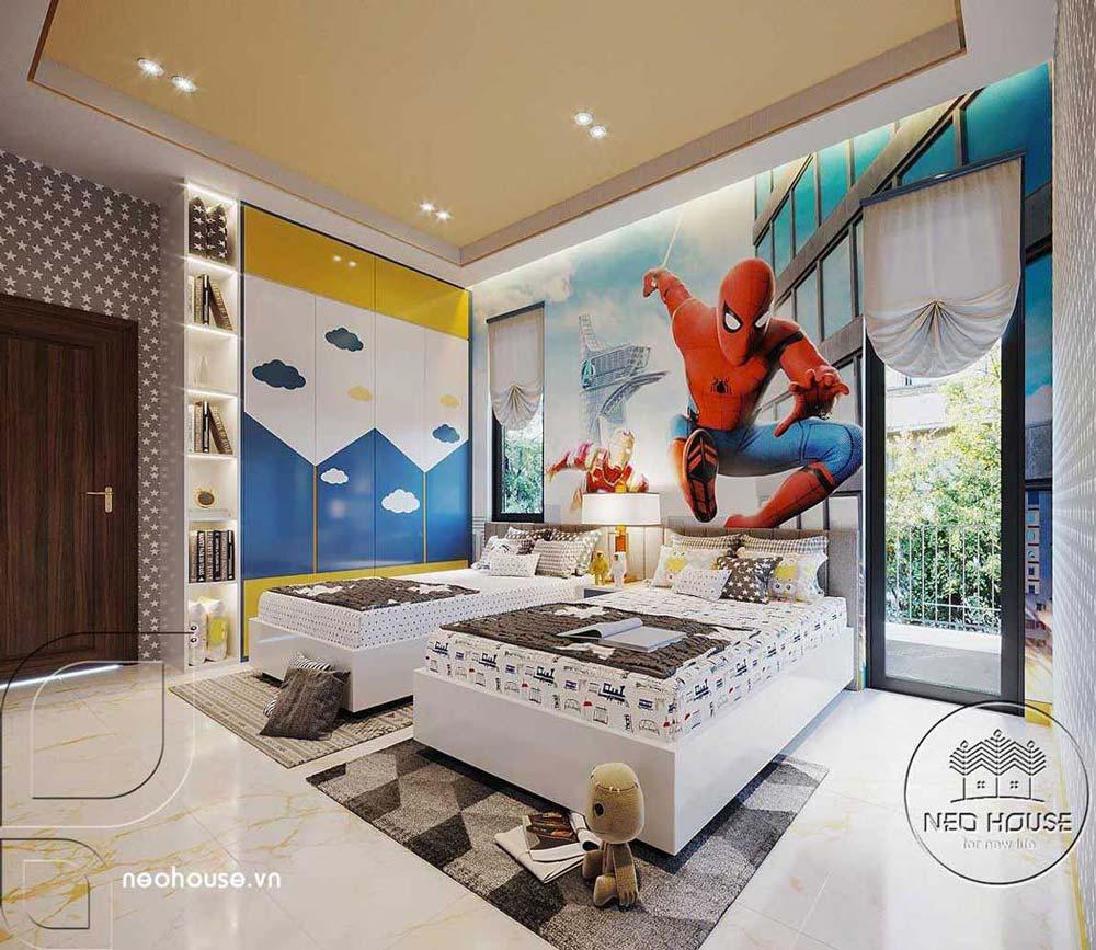 Mẫu thiết kế nội thất biệt thự hiện đại. Ảnh 10
