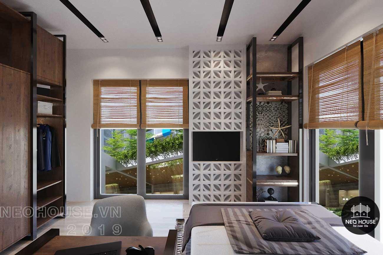 Thiết kế nội thất biệt thự hiện đại 3 tầng. Ảnh 5