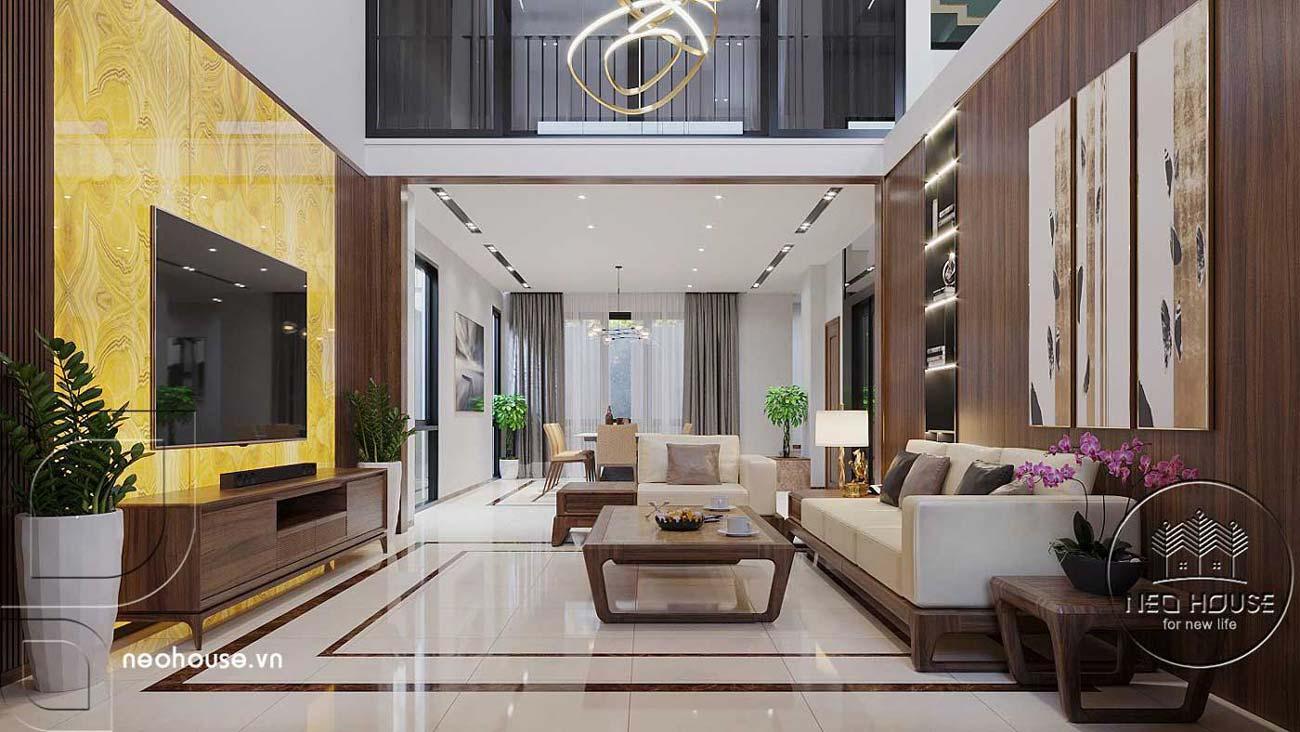 Mẫu thiết kế nội thất biệt thự hiện đại. Ảnh 2