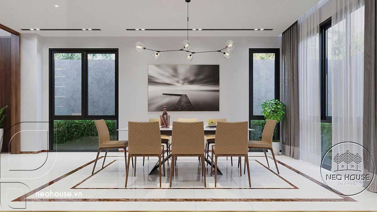 Mẫu thiết kế nội thất biệt thự hiện đại. Ảnh 4