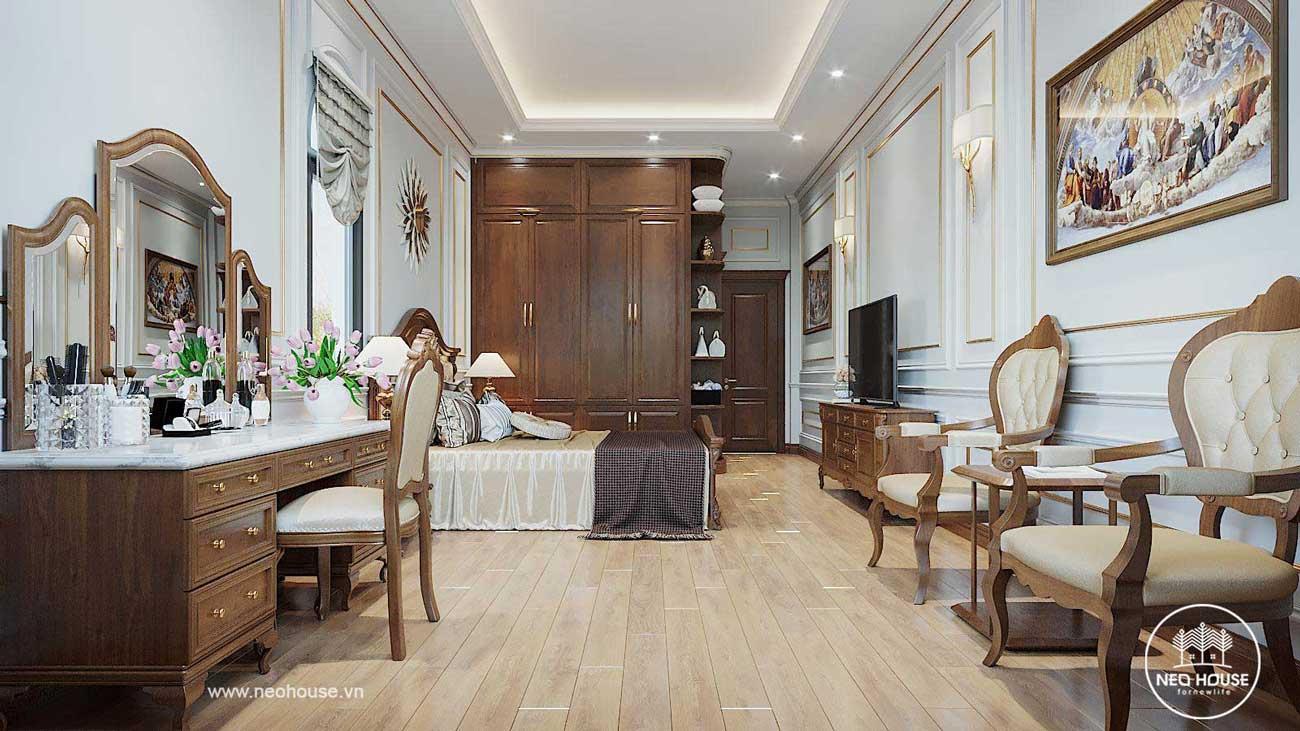Thiết kế nội thất biệt thự 3 tầng tân cổ điển. Ảnh 6