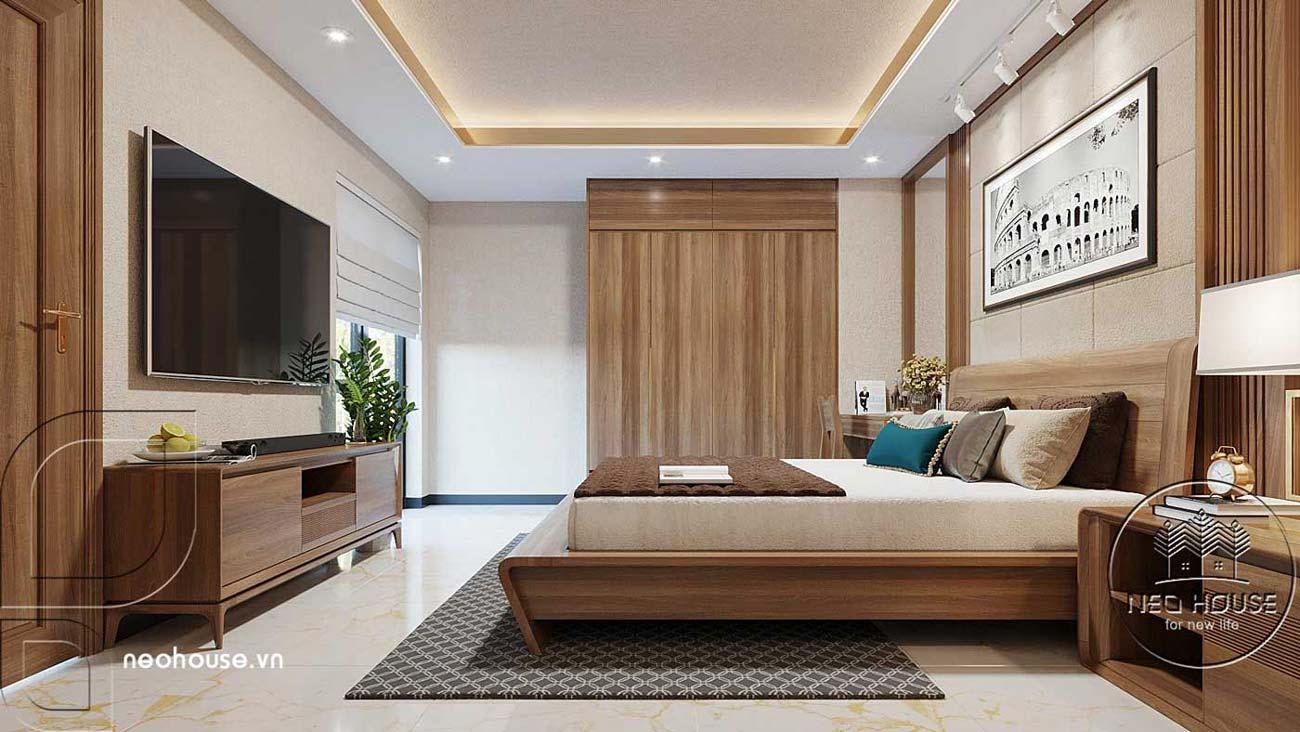 Mẫu thiết kế nội thất biệt thự hiện đại. Ảnh 7