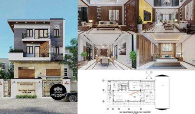 [BÁO GIÁ] Thiết kế nội thất biệt thự hiện đại, cao cấp 2020