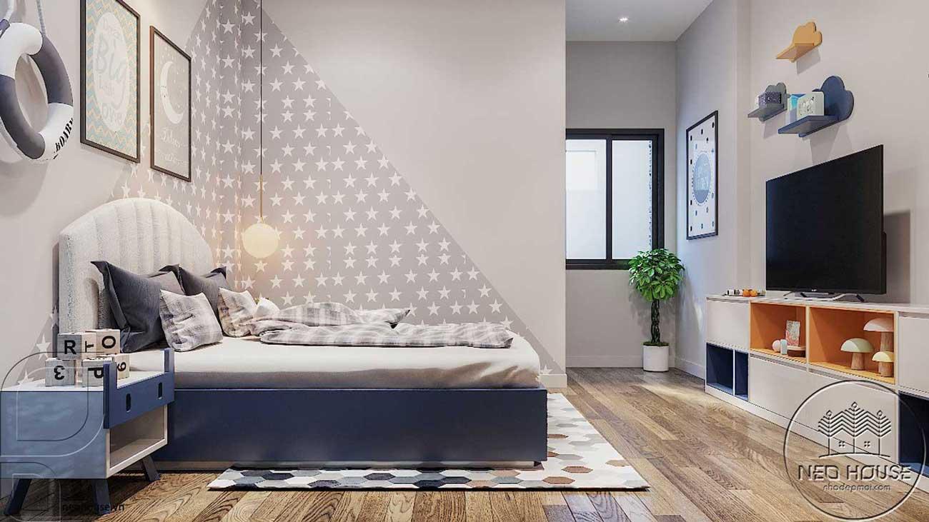 Thiết kế nội thất phòng ngủ hiện đại. Ảnh 4