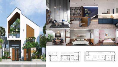 Những mẫu thiết kế nội thất nhà phố hiện đại đẹp nhất 2021