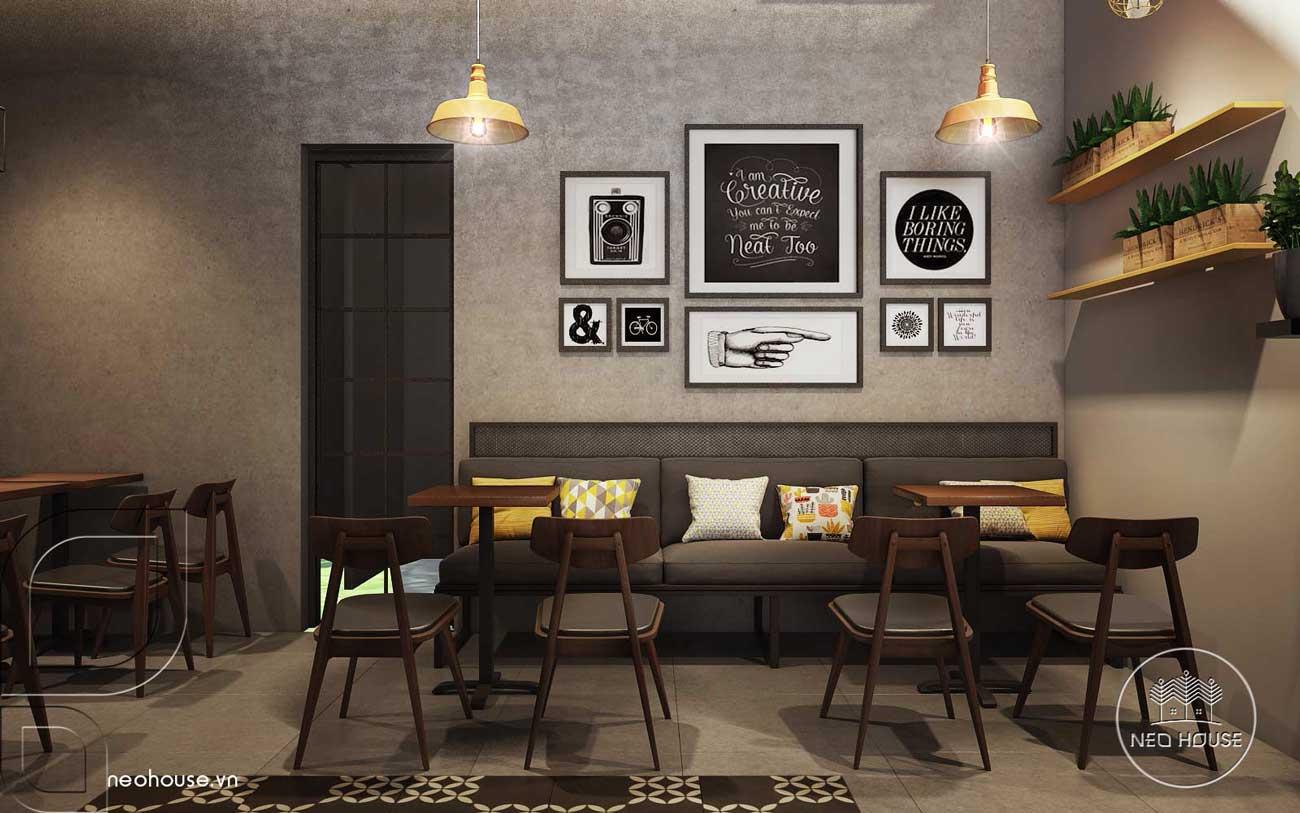 Thiết kế nội thất quán trà sữa RiRo. Ảnh 6