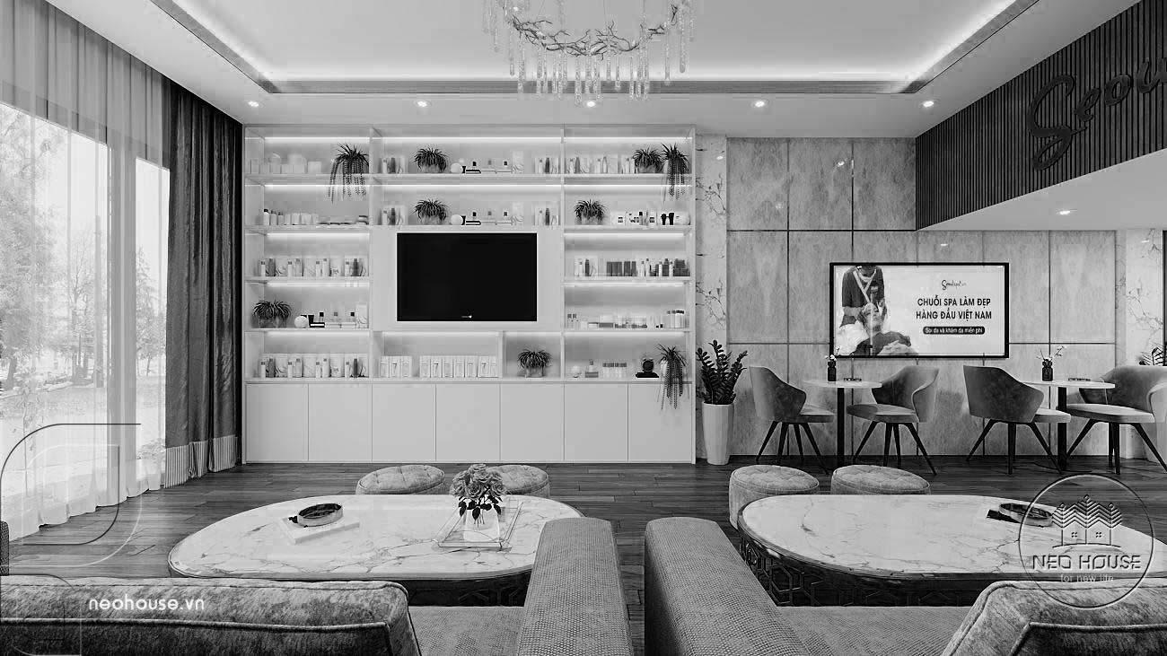 Thiết kế thi công nội thất spa Seoulspa.vn. Ảnh 5