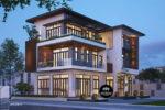 Mẫu Nhà Biệt Thự 3 Tầng Đẹp Độc Đáo 10x15m Tại Bình Tân – BT33