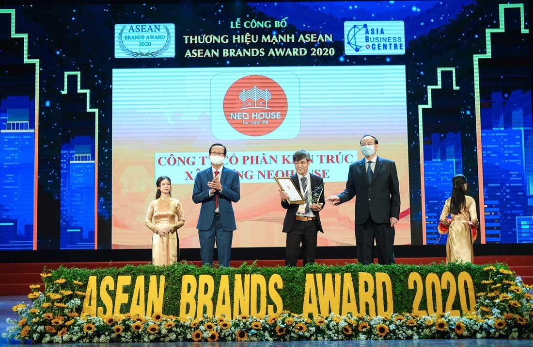 NEOHouse nhận giải top 10 thương hiệu mạnh ASEAN 2020. Ảnh 3