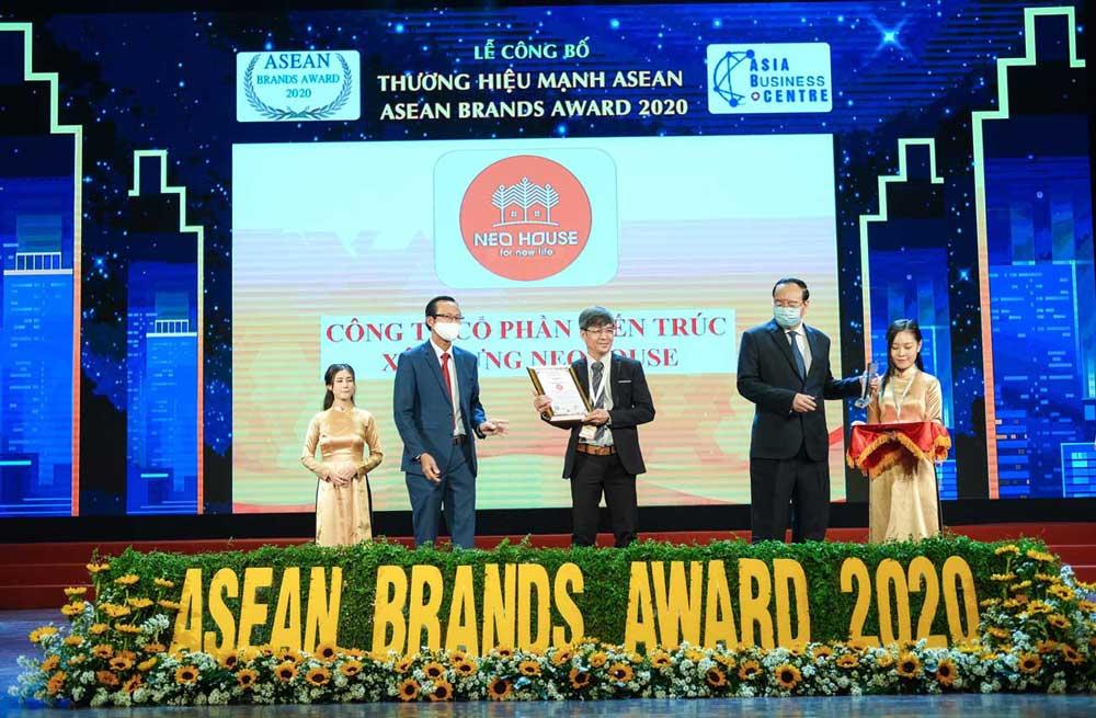 NEOHouse nhận giải top 10 thương hiệu mạnh ASEAN 2020. Ảnh 2