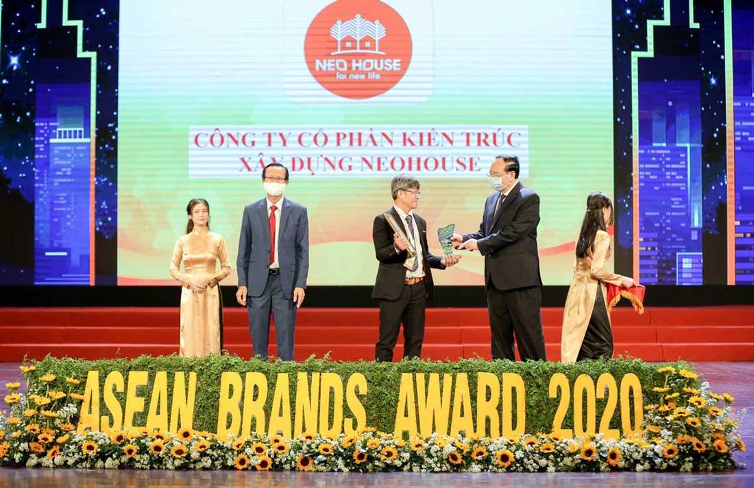 NEOHouse nhận giải top 10 thương hiệu mạnh ASEAN 2020. Ảnh 1