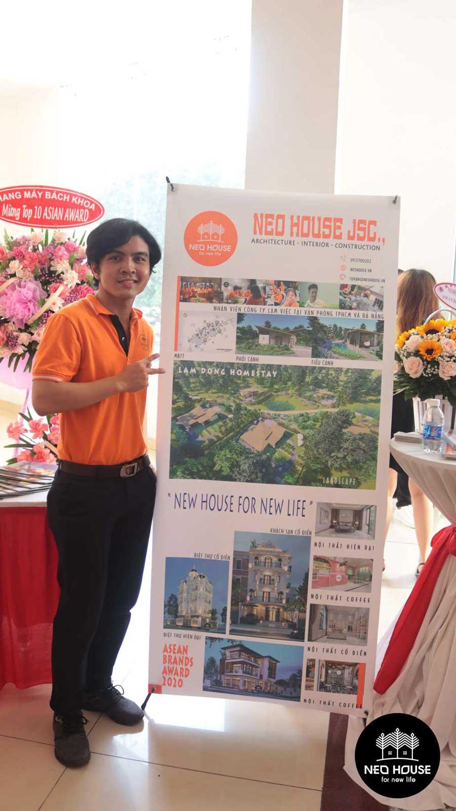 Đội ngũ nhân viên của NEOHouse JSC tại lễ trao giải ASEAN 2020. Ảnh 9