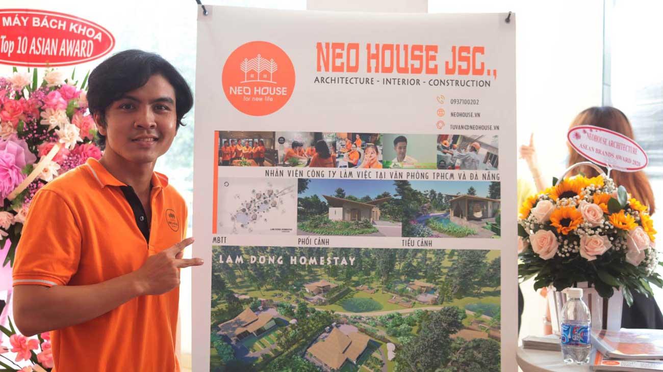 Đội ngũ nhân viên của NEOHouse JSC tại lễ trao giải ASEAN 2020. Ảnh 8