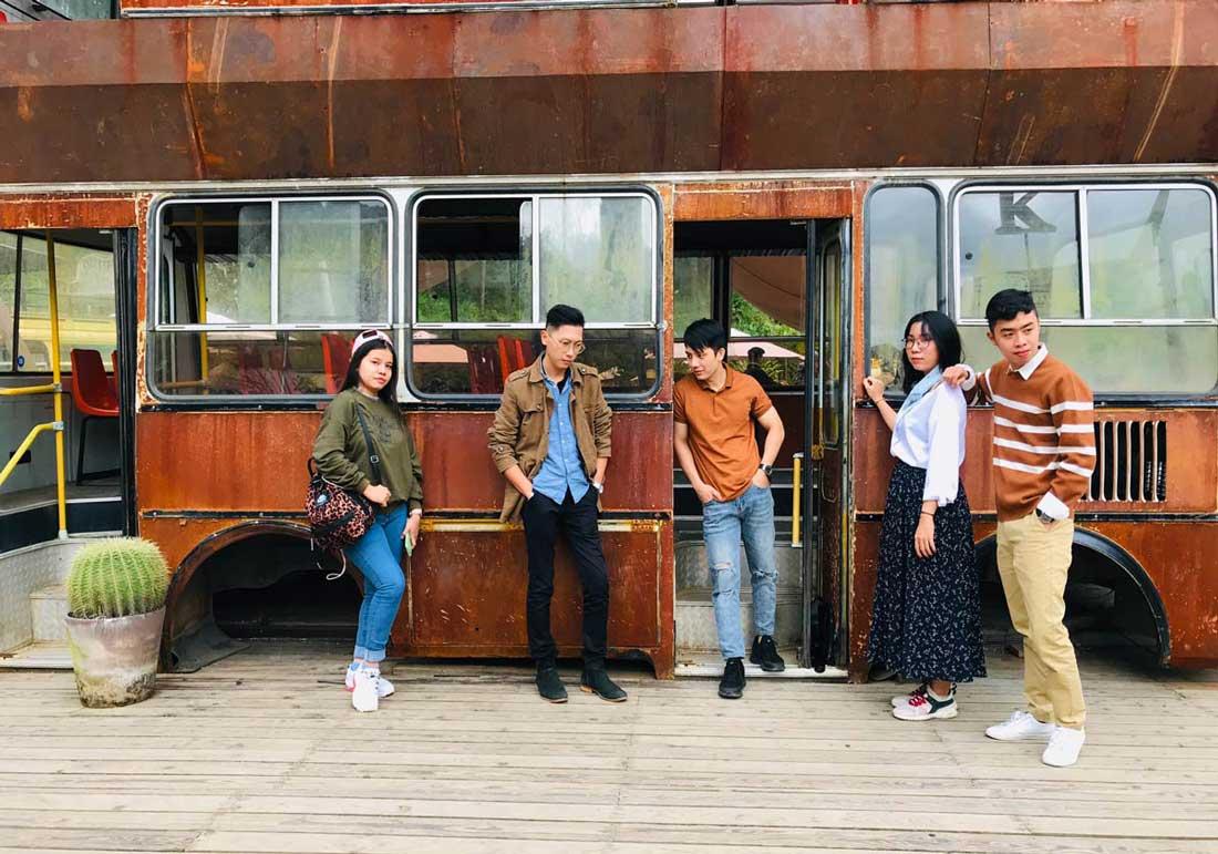 Đội ngũ nhân viên NEOHouse du lịch tại Đà Lạt. Ảnh 16