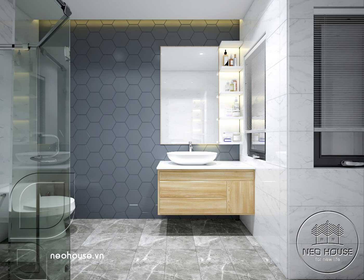 Thiết kế thi công cải tạo nhà phố 3 tầng với không gian nội thất phòng ngủ Master 01. Ảnh 2