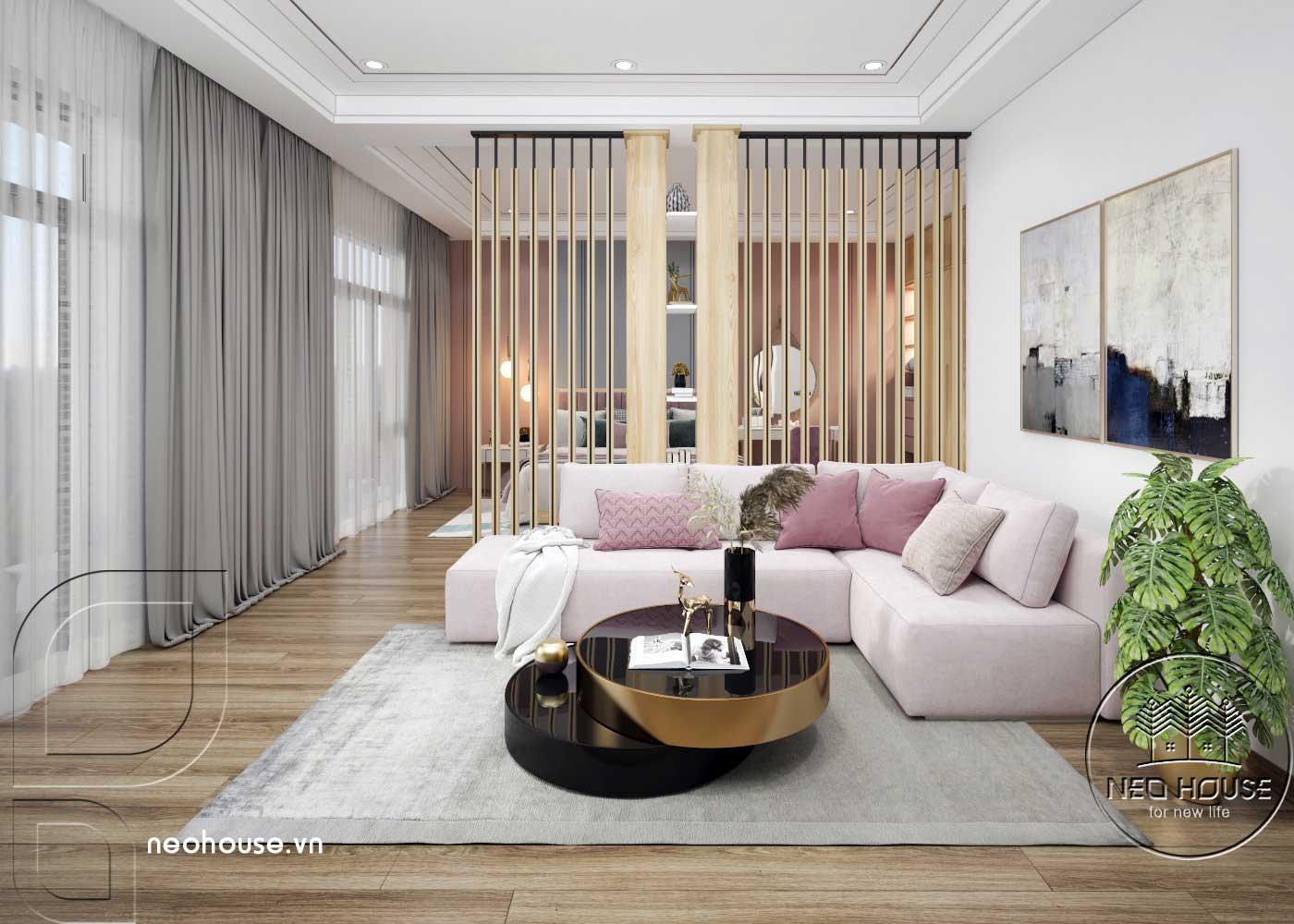 Thiết kế thi công cải tạo nhà phố 3 tầng với không gian nội thất phòng ngủ Master 02. Ảnh 3