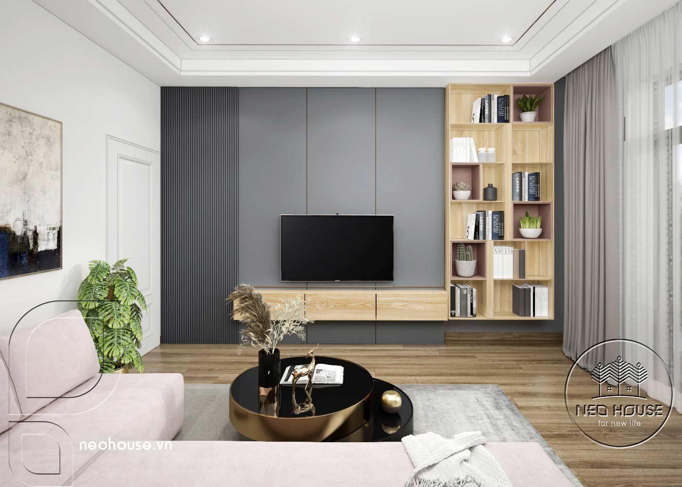 Thiết kế thi công cải tạo nhà phố 3 tầng với không gian nội thất phòng ngủ Master 02. Ảnh 4