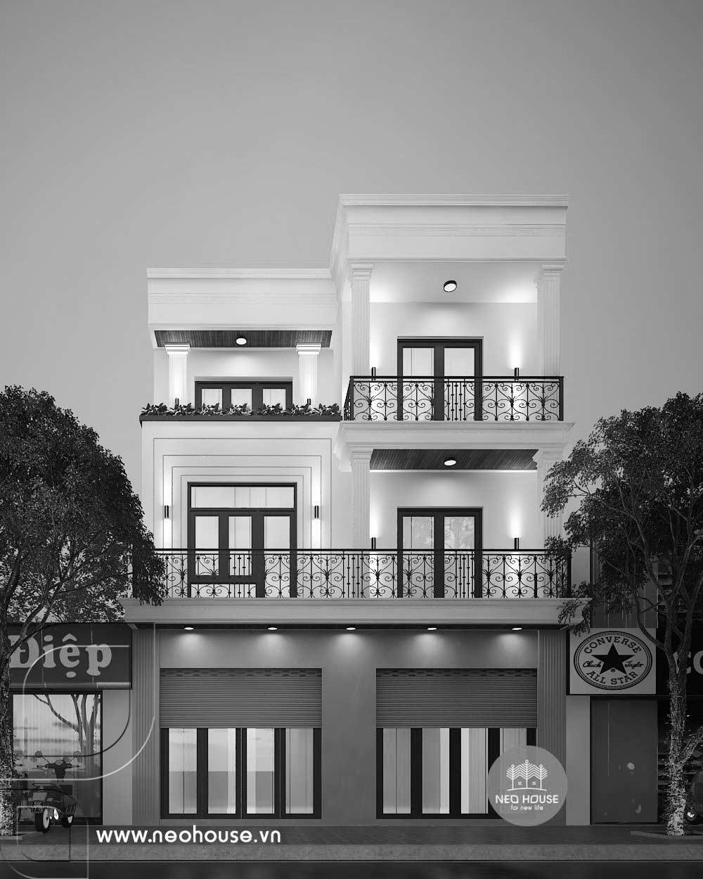Thiết kế thi công cải tạo nhà phố 3 tầng. Ảnh 5
