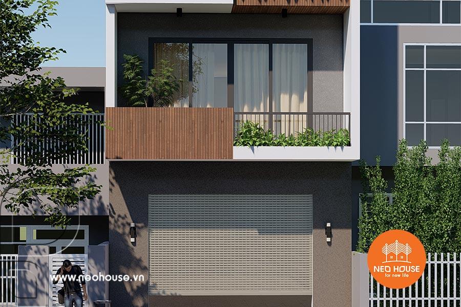 Mẫu nhà phố 3 tầng đẹp hiện đại. Ảnh bìa