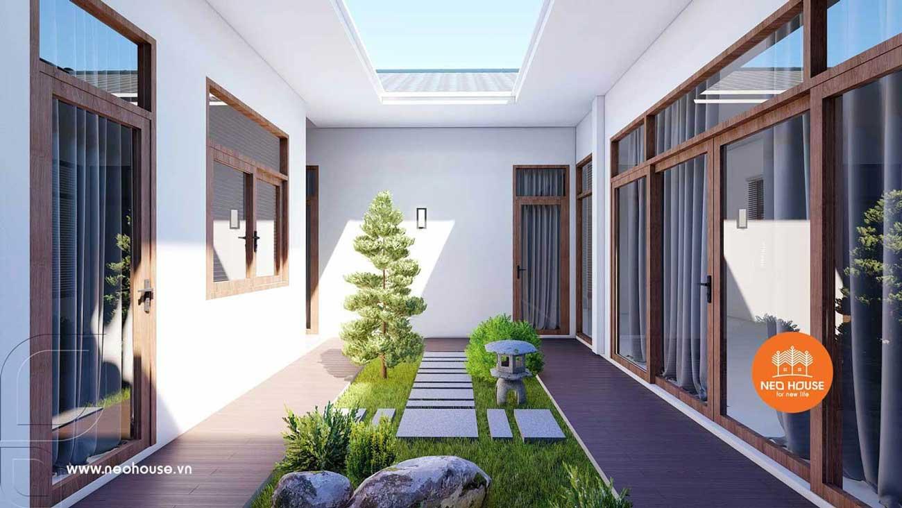 Biệt thự mái thái 1 tầng hiện đại. Ảnh 5