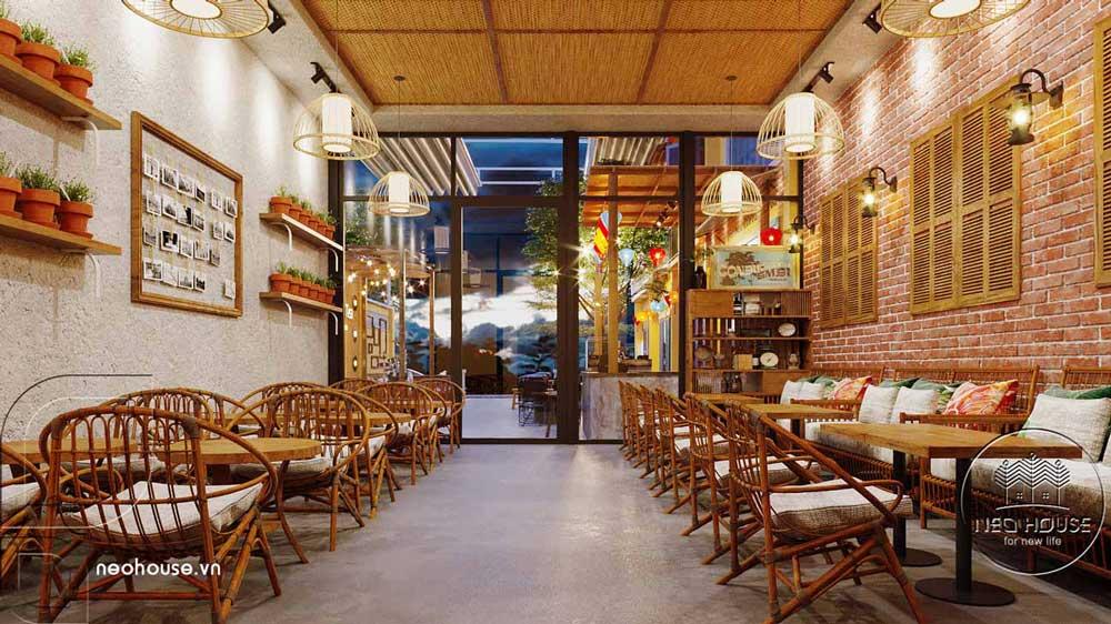 Thiết kế và thi công quán cafe sân vườn trọn gói tại Bình Phước. Ảnh 9