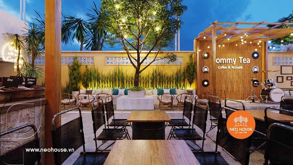 Thiết kế và thi công quán cafe sân vườn trọn gói tại Bình Phước. Ảnh 6