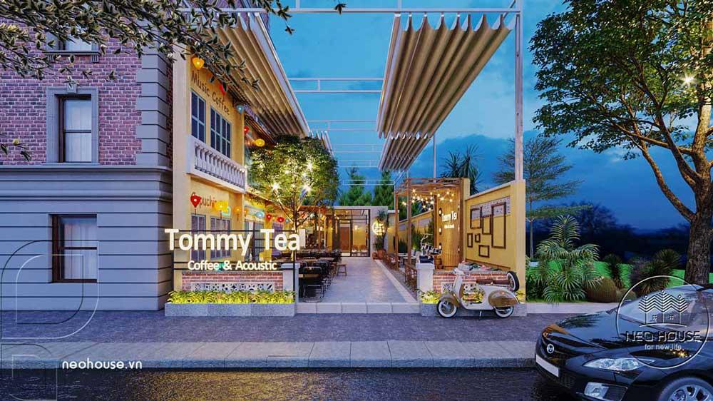 Thiết kế và thi công quán cafe sân vườn trọn gói tại Bình Phước. Ảnh 1